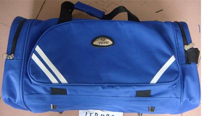 Blue Travel Bags With Long Strap