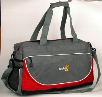 Gray Fashion Sports Travel Bags for men