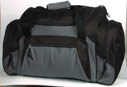Gray Sports Travel Bags