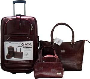 Leather Travel bag Sets