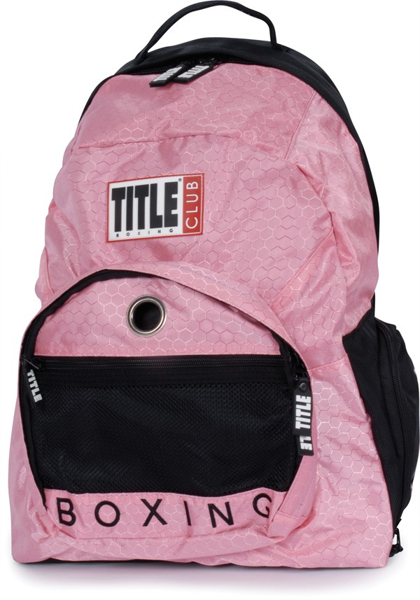 Pink fashion travel Backpack bag