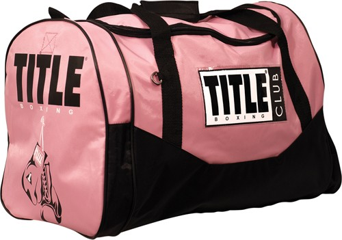 Pink fashion travel bag