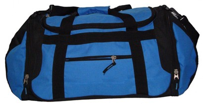 Quality Blue Travel Bags With Two Straps