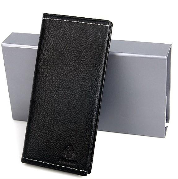 Black Fashion PU Wallet bag