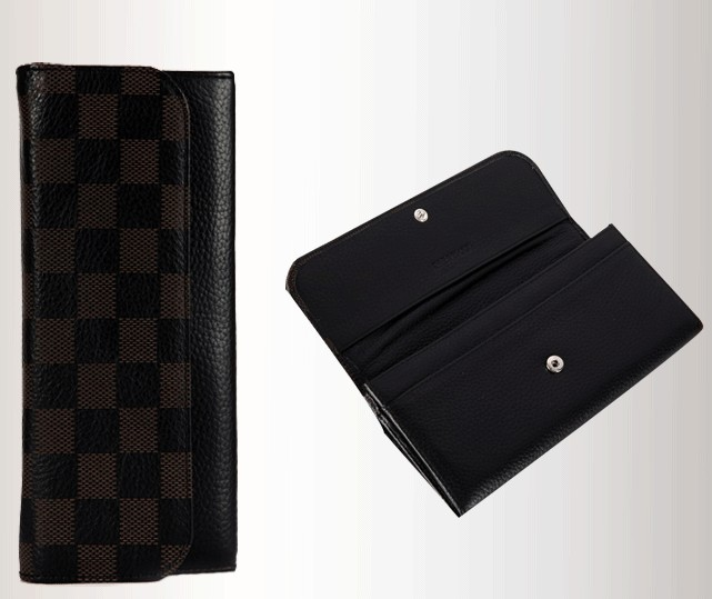 Black Fashion PU Wallet bag