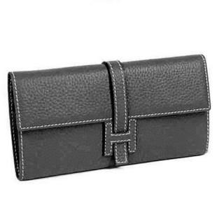 Black PU Leather Wallet bag