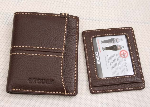 Brown Fashion Real Leather Wallet bag