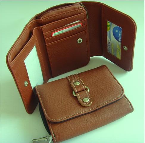 Brown Leather Wallet bag