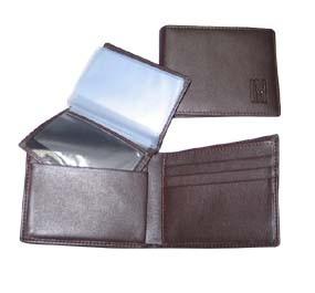Brown PU Men's Leather Wallet bag