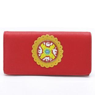 Red  Fashion   PU Wallet bag