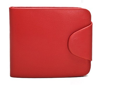 Red Fashion Real Leather Wallet bag