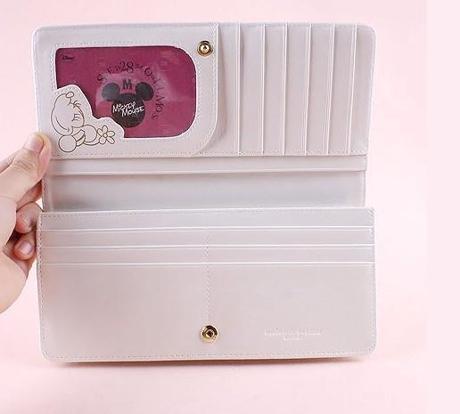 Whie Fashion PU Wallet bag