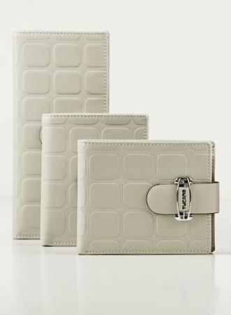 White Fashion PU Wallet bag
