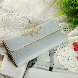 White PU Wallet bag