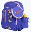 Blue Cartoon Student Bag
